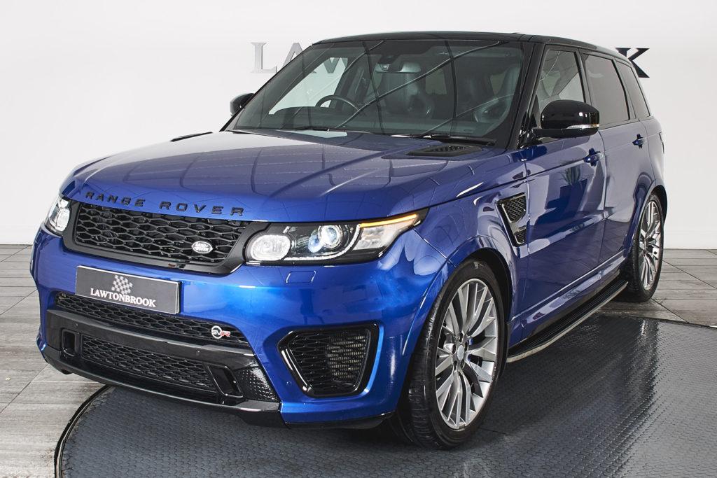 Land Rover Range Rover Sport 5.0 V8 Supercharged SVR 4X4