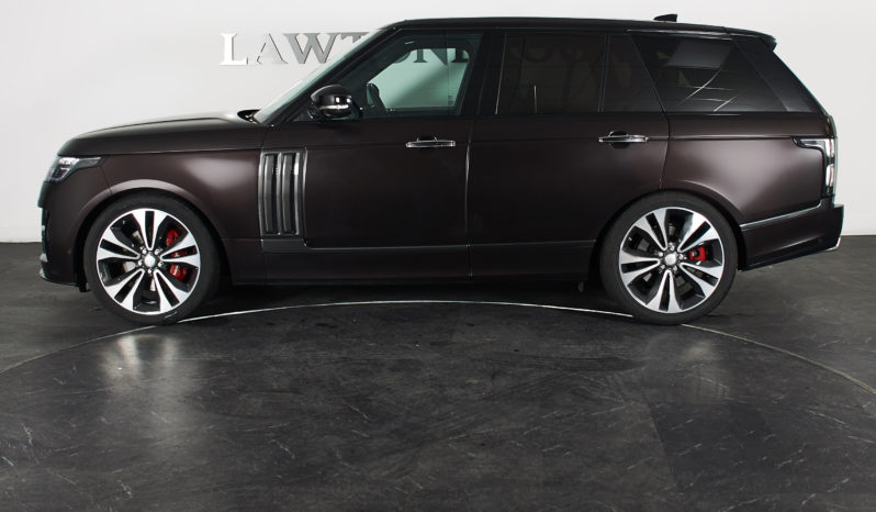 Land Rover Range Rover 5.0 V8 Supercharged SV Autobiography full