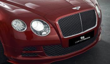 Bentley Continental 6.0 W12 GTC Speed full