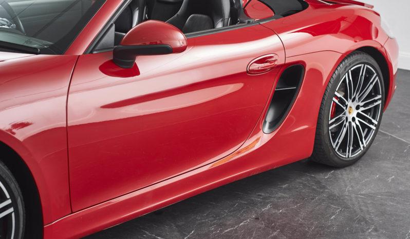 Porsche Boxster 3.4 981 S PDK full