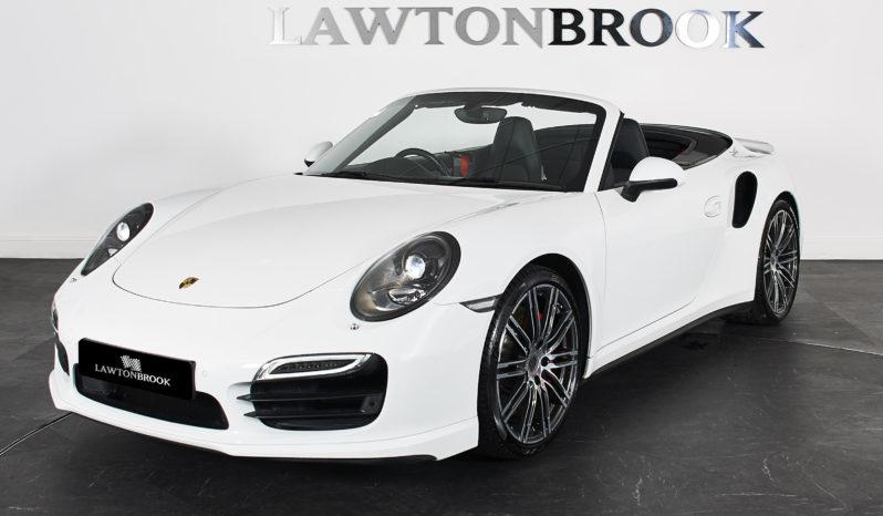 Porsche 911 3.8T 991 Turbo PDK full