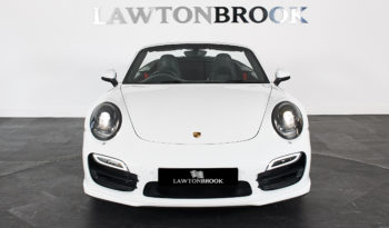 Porsche 911 3.8T 991 Turbo PDK full