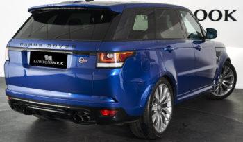 Land Rover Range Rover Sport 5.0 V8 Supercharged SVR 4X4 full